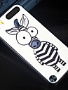 The size of the eye cartoon zebra Pattern Design Pattern Back Cover Protective Hard Case for  iPod touch 5