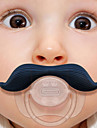 Silicone Infant Baby Kid Pacifier Dummy Mustache Nipples Beard Newborn Girl Boy