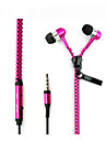 In Ear Wired Headphones Aluminum Alloy Mobile Phone Earphone with Microphone Headset