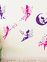 Wall Stickers Wall Decals Style Cartoon Spirit PVC Wall Stickers