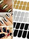 48 Sticker Manucure  Autocollants 3D pour ongles Abstrait Punk Maquillage cosmetique Manucure Design