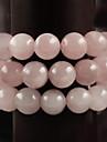 Beadia 39Cm/Str (Approx 98Pcs) Natural Rose Quartz Beads 4mm Round Pink Stone Beads DIY Accessories