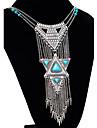 Femme Colliers Declaration Alliage Mode Bijoux Fantaisie Europeen bijoux de fantaisie Bijoux Pour Occasion speciale Anniversaire