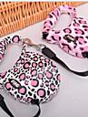 Белый/Розовый - Поводки - для Собаки - Пластик - Водонепроницаемый/Выдвижной/Леопардовый принт -