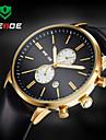 WEIDE® Men Luxury  Design Dress  Watch Quartz Analog Leather Strap Wrist Watch Cool Watch Unique Watch