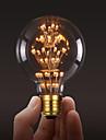 ecolight® e27 3w светодиодная лампочка 3700k теплый белый чердак ретро промышленная лампа шарика edison ac220 ~ 240v