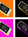Для Кейс для iPhone 6 / Кейс для iPhone 6 Plus Мигающая LED подсветка / Прозрачный Кейс для Чехол Кейс для Один цвет Мягкий TPUiPhone 6s