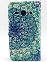 Coque Pour Samsung Galaxy Samsung Galaxy Coque Porte Carte Portefeuille Avec Support Clapet Coque Intégrale Mandala faux cuir pour Core