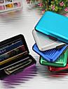 περίπτωση πιστωτικών καρτών πορτοφόλι κάρτα μετρητών αλουμινίου (τυχαία χρώματα)