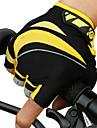 CoolChange Luvas Esportivas Luvas de Ciclismo Prova-de-Agua Reflector Vestivel Respiravel Anti-desgaste Sem Dedo Malha Ciclismo / Moto