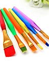 6 pcs Cake Brush Fondant Decor Painting Tool Icing Set Dusting DIY Sugarcraft