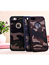 Coque Pour iPhone 5 Apple Coque iPhone 5 Antichoc Coque Camouflage Dur PC pour iPhone SE/5s iPhone 5
