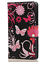 For Nokia Case Case Cover Wallet Card Holder with Stand Full Body Case Butterfly Hard PU Leather for NokiaNokia Lumia 850 Nokia Lumia 640