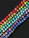 DIY Jewelry Stone Purple Red Green Blue Light Green Round Shape Bead DIY Necklace Bracelet