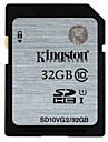 Kingston 32Go UHS-I U1 / Classe 10 SD/SDHC/SDXCMax Read Speed30 (MB/S)Max Write Speed30 (MB/S)