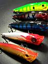 5 pcs Δόλωμα Momeală Dură Poper Plastic Dur Plutire Pescuit mare Aruncare Momeală Pescuit la Copcă / Filare / Pescuit la Oscilantă / Pescuit de Apă Dulce / Pescuit Biban / Momeală pescuit