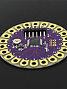 Lilypad ATmega328P Wearable Development Board for Arduino - Purple + Gold