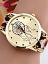 Женские Модные часы Часы-браслет Кварцевый Нейлон Группа Черный Синий Коричневый Розовый