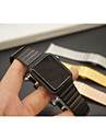 Watch Band for Apple Watch Series 3 / 2 / 1 Apple Butterfly Buckle Metal Wrist Strap