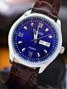 L.WEST Men\'s Waterproof Calendar Quartz Pointer Watch Wrist Watch Cool Watch Unique Watch Fashion Watch
