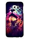 Pour Samsung Galaxy Coque Motif Coque Coque Arriere Coque Animal Polycarbonate pour Samsung S6
