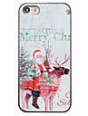 용 아이폰5케이스 패턴 케이스 뒷면 커버 케이스 크리스마스 하드 PC iPhone SE/5s/5