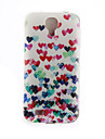 For Samsung Galaxy Case Pattern Case Back Cover Case Heart TPU Samsung S6 / S5 / S4 Mini / S4