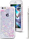 Fresh Glitter Bling Dynamic Heart Quicksand Liquid Hard Cover Clear Case for iPhone 6 Plus/6S Plus(Assorted Colors)