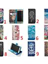 Para Samsung Galaxy Capinhas Porta-Cartao / Carteira / Com Suporte / Flip Capinha Corpo Inteiro Capinha Desenho Couro PU SamsungS7 edge /