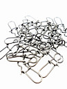 50 pcs Other Tools Fishing Snaps & Swivels g / Ounce mm inch, Metal General Fishing