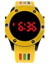 Unisex Digital LED Colorful Rubber Sport Watch Wrist Watch Cool Watch Unique Watch Fashion Watch