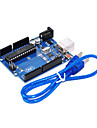 UNO R3 For Arduino (Neutral) Development Board, Single-Chip Microcomputer To USB Cable