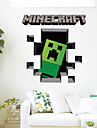 3D Wall Stickers Wall Decals, Minecraft PVC Wall Stickers