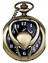 Fashion vintage Shape Vintage Alloy Quartz Analog Pocket Watch With Chains  (1 x LR626) Cool Watch Unique Watch