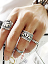 Women's Alloy - Elephant Flower Animal Carved Fashion European Punk Ring For Party Daily Casual