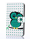 Case For Samsung Galaxy Samsung Galaxy Case Card Holder Wallet with Stand Flip Pattern Full Body Cases Owl PU Leather for On 7 On 5 J3 J1