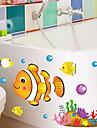 Декоративные наклейки на стены - 3D наклейки Пейзаж / Рождество / Цветы Гостиная / Спальня / Ванная комната / Съемная
