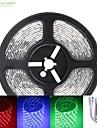 SENCART RGB 스트립 조명 300 LED RGB 리모콘 컷테이블 밝기조절가능 방수 색상-변화 접착성이 있는 자동차에 적합 연결가능 DC 12V DC 12