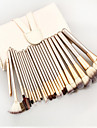 Professional Soft 24pcs Makeup Brushes Set Cosmetic Make Up Tools Set With Leather Case