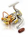 Mulinelli da pesca Mulinelli per spinning 5.2:1 Rapporto di trasmissione+10 Cuscinetti a sfera Mano Orientamento Intercambiabile Pesca di mare / Pesca a ghiaccio / Spinning - DB2000 DB3000 DB4000