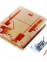 Дело корпус прозрачный акрил прозрачная крышка коробки для Arduino уно r3 r3 борту