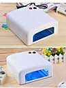 1Pcs Led 36W Phototherapy White Manicure Phototherapy Machine jd818 4 Built-In Lamp Manicure Lamp 120S Timing