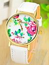 Women's Multicolor Print Bohemia Style PU Leather Band Analog Quartz Wrist Watch (Assorted color) Cool Watches Unique Watches Strap Watch