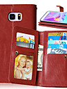 Luxury PU Leather Flip Cover 9 Card Holders Wallet Case For Samsung Galaxy Note 3/Note 4/Note 5