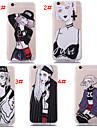 새로운 스타일의 개성 소녀 실크 패턴 다시 iphone6 / 아이폰 6S (모듬 색상)에 대한 표지