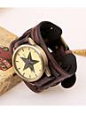 Men\'s Vintage Leather Watch Wrist Watch Cool Watch Unique Watch Fashion Watch
