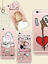 For iPhone 5 Case Case Cover Transparent Pattern Back Cover Case Cartoon Soft TPU for iPhone 7 Plus iPhone 7 iPhone SE/5s iPhone 5