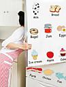 Рождество Цветы Праздник Пейзаж Наклейки 3D наклейки Декоративные наклейки на стены Наклейки на холодильник,Винил Украшение дома Наклейка