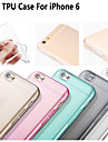 Ultra Thin Style Soft Flexible Transparent TPU Case for iPhone 6s 6 Plus