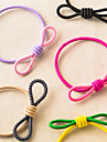 Candy Girl Sweet Style Fabric Bowknot Hair Ties Kid\'s Hair Jewelry (Random Color)